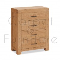 Creswell 4 Drawer Chest