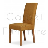 Upholstered Dining Chair - Mustard