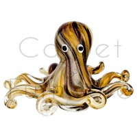 MINI GLASS OCTOPUS ORNAMENT