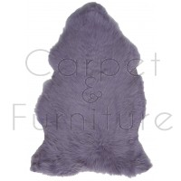 British Sheepskin Rug  - Lilac-Single Skin