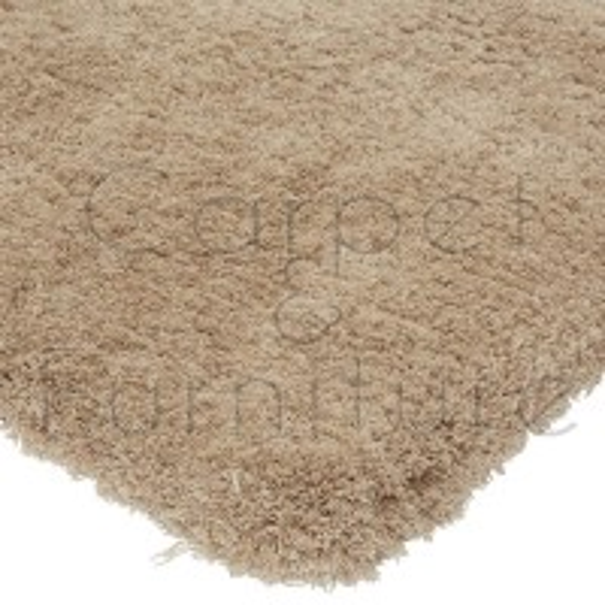 """Lulu Shaggy Rug - Sand - Size 160 x 230 cm (5'3"""" x 7'7"""")"""