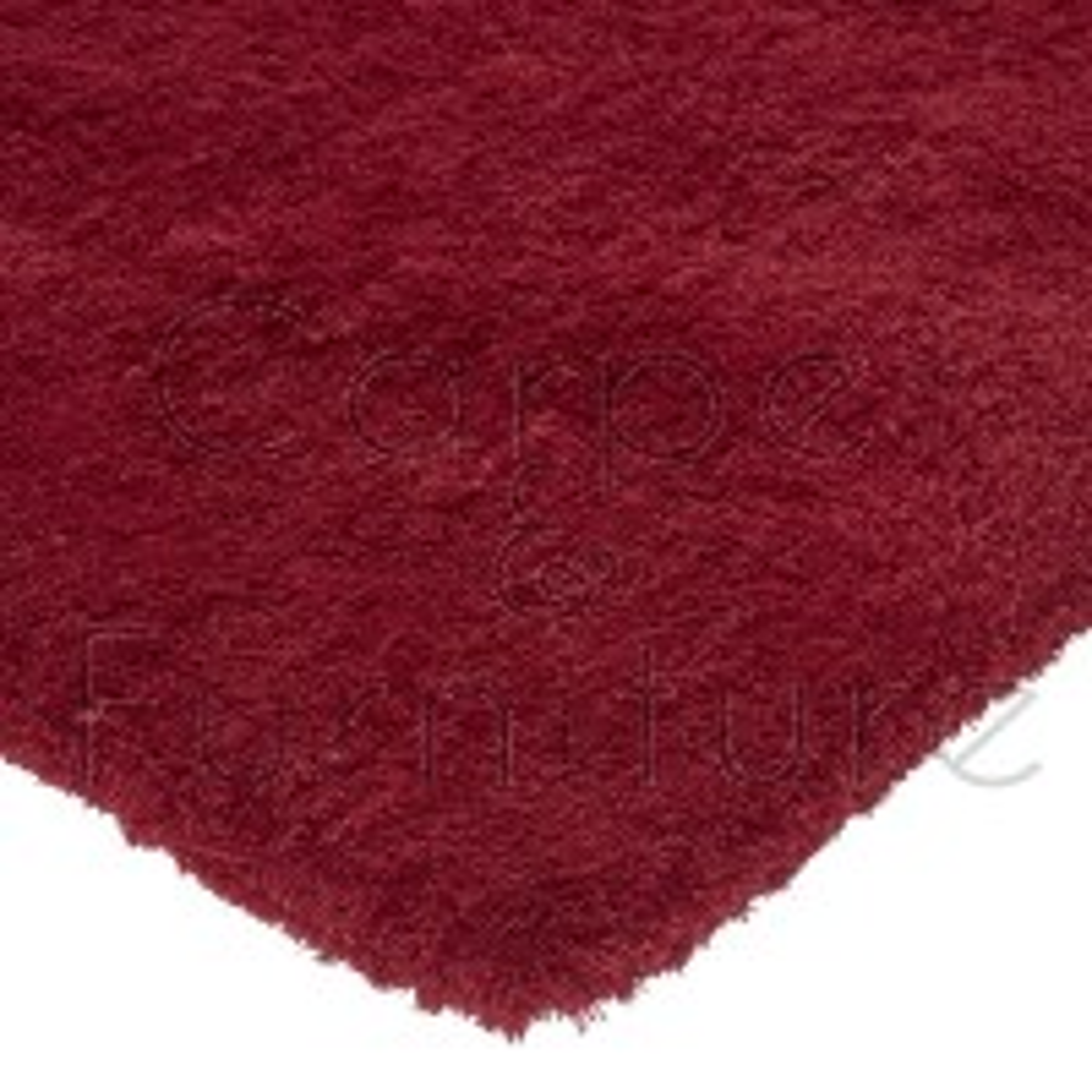 "Lulu Shaggy Rug - Sorbet Red - Size 80 x 150 cm (2'8"" x 5')"