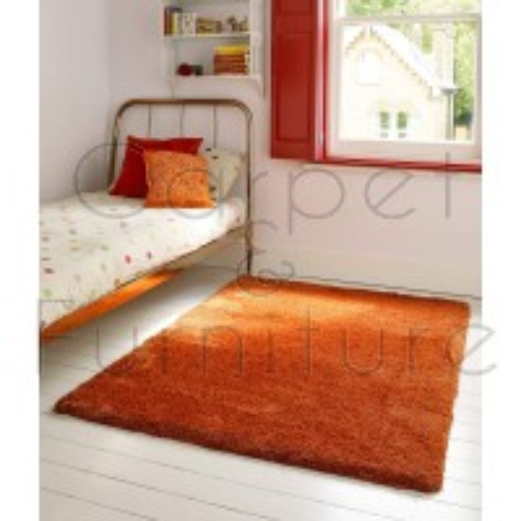"Lulu Shaggy Rug - Spice - Size 160 x 230 cm (5'3"" x 7'7"")"