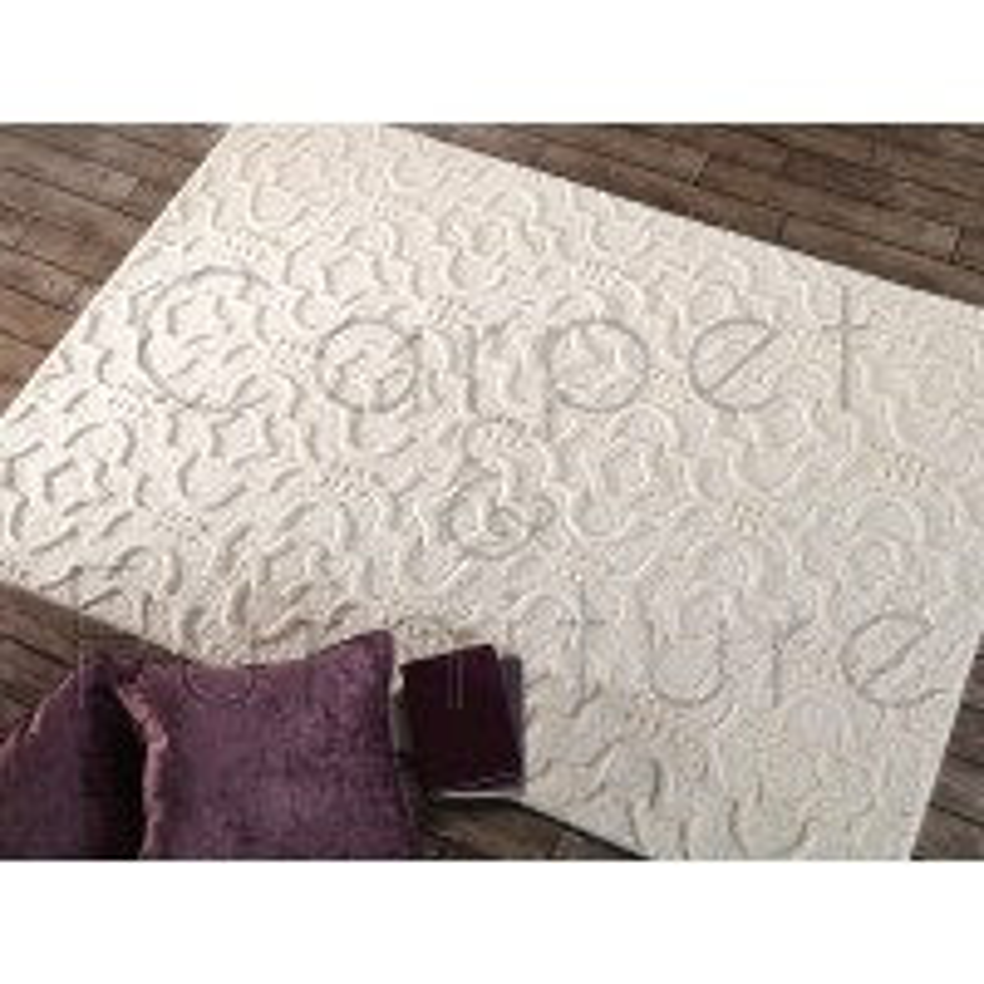 "Moorish Marrakech Cream Rug - Size 200 x 290 cm (6'7"" x 9'6"")"
