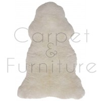British Sheepskin Rug  - Natural White-Octo Skin