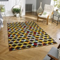 "Piccadilly Rug -  563 B Multicoloured - Size 160 x 230 cm (5'3"" x 7'7"")"