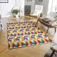Piccadilly Rug -  564 Y Multicoloured - Size Runner 60 x 230 cm