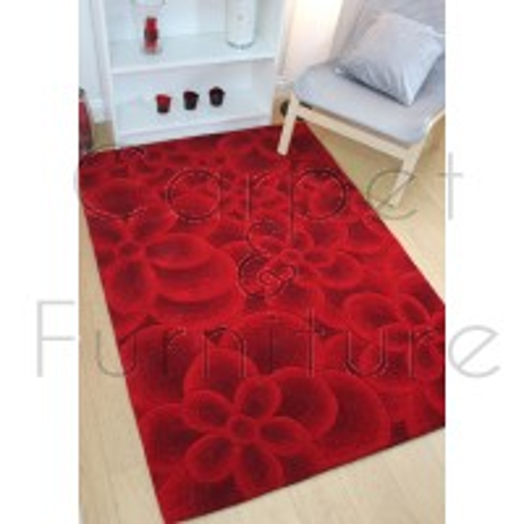 "Regent Chesham Red Rug - Size 120 x 170 cm (4' x 5'7"")"