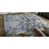 "Serenity Super-Soft Shaggy - Duck Egg - Size 160 x 230 cm (5'3"" x 7'7"")"