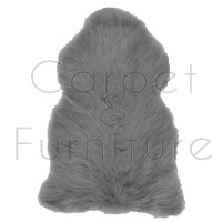 British Sheepskin Rug  - Slate Grey-Treble Skin