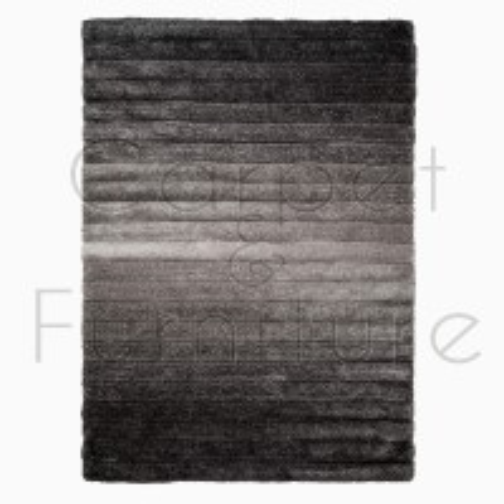 "Verge Ombre Rug - Grey - Size 160 x 230 cm (5'3"" x 7'7"")"