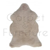 British Sheepskin Rug  - Warm Beige-Single Skin