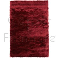 Whisper Shaggy Rug - Mars Red - Size 90 x 150 cm (3' x 5')