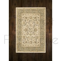 Ziegler Traditional Rug - 7709 Cream Green  - Size Runner 67 x 230 cm